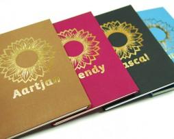Zonnenbloemboekjes